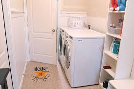 Laundry Bench Height Laundry Room Phase 2 How To Run A Vent Pipe Through A Shelf