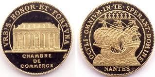 numero de chambre de commerce médaille d or de la chambre de commerce de nantes grand patrimoine