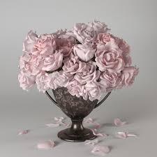 Vase With Roses Roses In Vase 3d Model Cgtrader