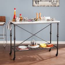 Metal Kitchen Island Tables Amazon Com Morenci Kitchen Island Kitchen Islands U0026 Carts