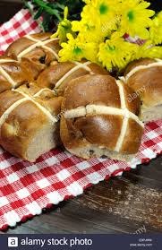 english style happy easter cross buns tradition for good