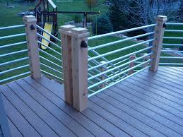wire horizontal deck railing ideas kimberly porch and garden