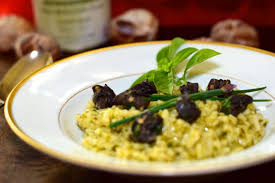 escargot cuisine basil risotto with escargot lindysez recipes