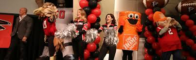 Homedepot by The Home Depot Home Depot Celebrates Falcons In Hometown