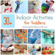 For Toddlers 30 Easy Toddler Indoor Activities