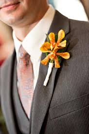 Orchid Boutonniere Lee Forrest Design Fresh Tropical Gallery