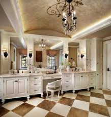 gold leaf ceiling bathroom traditional with chair traditional