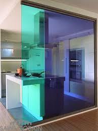 separation de cuisine en verre camouflez ouvrez et fermez à votre guise verre solutions