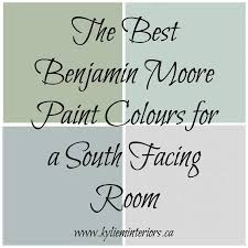 Paint For Dark Rooms by The Best Benjamin Moore Paint Colours For A South Facing