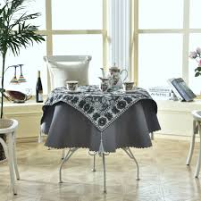 Fitted Round Tablecloth Online Get Cheap Round Table Linen Aliexpress Com Alibaba Group