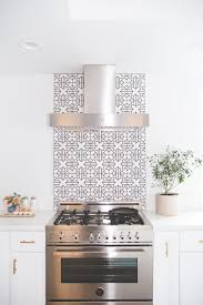 white tile backsplash kitchen minimal bliss can t get enough of this black and white backsplash