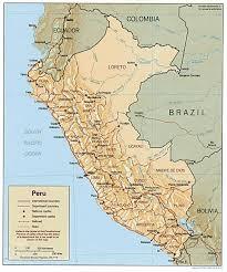 Lima Map Peru Lima East Peru Information