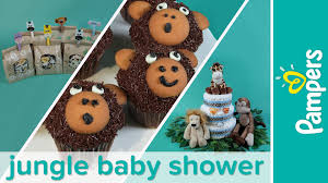 baby shower themes how to plan a jungle baby shower party