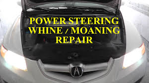 lexus es330 wheel bearing noise acura tl power steering pump noisy whining moaning fix hd youtube