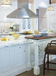 White Kitchen Cabinets With Marble Countertops Countertops Whit Marble Countertop Stainless Steel Canopy Range
