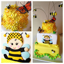 bumble bee baby shower cake baby shower christening cakes