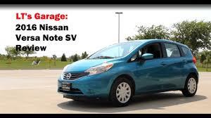 nissan versa hatchback 2016 2016 nissan versa note sv review youtube