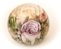 wedding flowers paperweight multi flower paperweight 4 5 inch flower preservation workshop