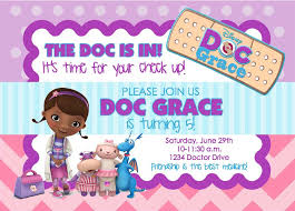 make your own party invitation doc mcstuffins party invitations lilbibby com