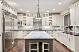 white kitchen cabinets with glass doors on top 27 photos of kitchens with glass cabinets many styles
