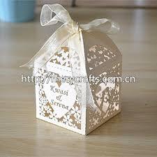 personalized wedding favor boxes 200pcs lot laser cut ivory favor box personalized wedding box