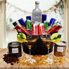 vodka gift baskets vodka bull gift basket yorkville s usa