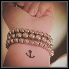 anchor tattoo temporary tattoo fake tattoo wrist tattoos