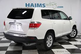 toyota highlander 2012 used 2012 used toyota highlander fwd 4dr i4 at haims motors serving