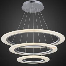 Chandeliers Led Traditional Circle Ring Led Modern Chandelier Light Fixture