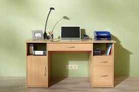 Computer Schreibtisch Buche Schreibtisch Workstation Computertisch Tisch Mod W033 Weiss Buche