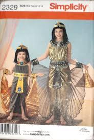 Simplicity Halloween Costumes Simplicity Child U0027s Cleopatra Costume Pattern 2329 Ebay