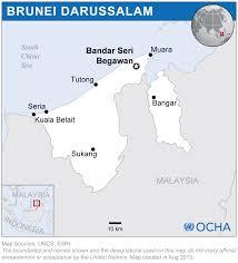 Brunei Map Brunei Darussalam Location Map 2013 Brunei Darussalam Reliefweb