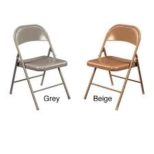 nps commercialine all steel folding chair pack of 4 free