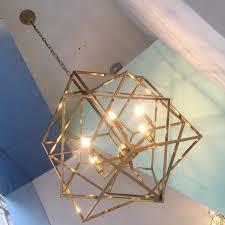 designer beleuchtung designer beleuchtung gold käfig leuchte kronleuchter kupfer