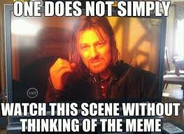 one does not simply meme l o t r pinterest meme