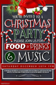christmas poster templates postermywall