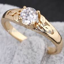 zircon rings images Women gold plated white zircon rings moroccan wedding rings am jpg