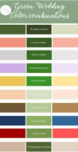 color combination for green green wedding color combinations knotsvilla