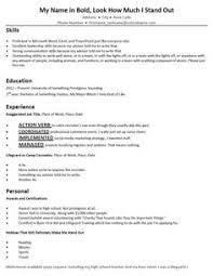 Bad Resumes Bad Layout But Good Reminder Of What To Put On A Dance Resume