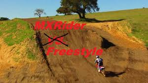 motocross freestyle riders mx rider freestyle over a shark tank youtube