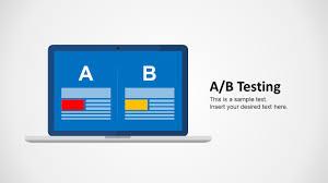 a b testing powerpoint template slidemodel