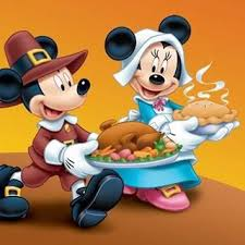 thanksgiving pilgrim mickey and minnie mouse disney