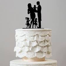 family cake toppers family wedding cake toppers groom baby 2