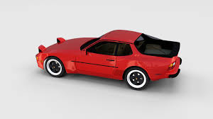 porsche 944 porsche 944 with interior rev by dragosburian 3docean