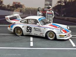 1993 porsche 911 turbo brumos racing old irish racing model collection