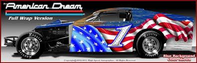 dirt modified graphics modified race car wraps imca modified