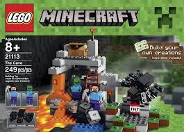 minecraft sports car amazon com lego minecraft the cave 21113 toys u0026 games