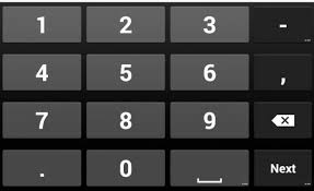 android swype keyboard keyboard how to change to number pad android apps