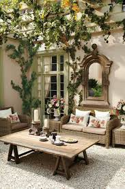 idee de jardin moderne miroir extérieur pour une déco de jardin extraordinaire ideeco