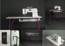 Portable Sewing Table by Sewing On My Kitchen Table December 2013